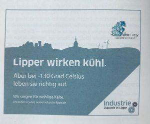 Anzeige LZ 10.07.2018 und Lippe Wissen & Wirtschaft 08.08.2018